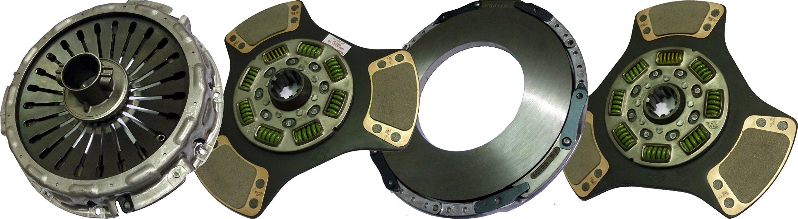 IATCO 104200-1-IAT 365mm x 1-3/4'' Stamped Steel Clutch