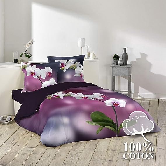 in cotone Chat Chaton Dimensioni rispettivamente: 140 x 200 cm e 70 x 90 cm Parure da letto composto da Copripiumino e Federa