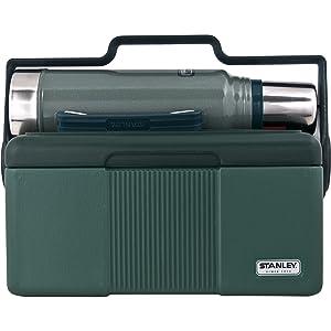 Stanley Heritage Cooler 7QT + Classic Vaccuum Bottle 1.1QT Combo