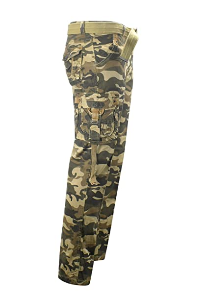 Amazon Com Camouflage Cargo Pants For Men Casual Relaxed Straight