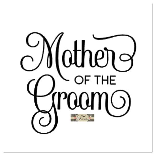 fe31b42baaa Amazon.com: Wedding Decals, Bridal Decals, Mother Of The Groom Car ...