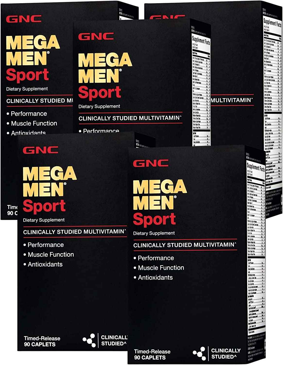GNC Mega Men Sport – 5 Pack
