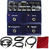 Digitech JamMan Stereo Looper Delay Pedal with Accessory Bundle