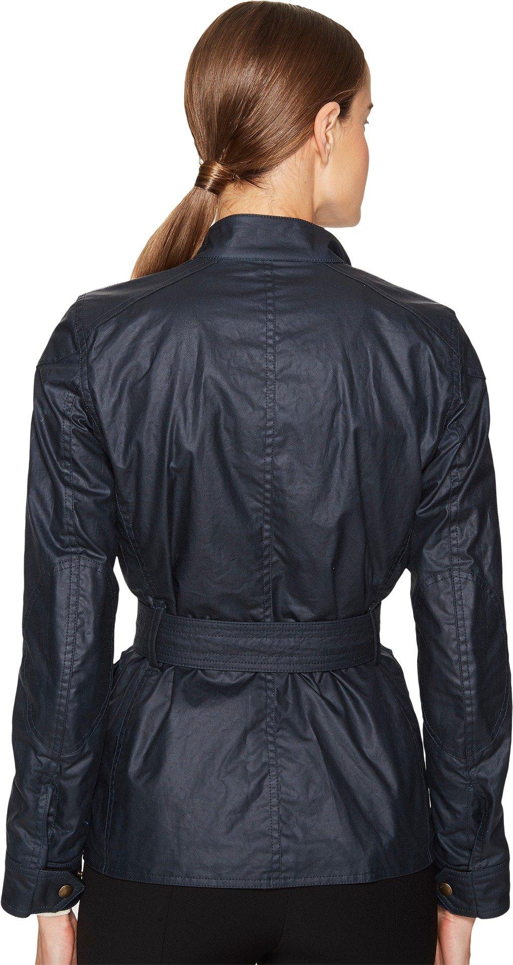 BELSTAFF Women's Roadmaster 2.0 Signature 6 Oz. Wax Cotton Jacket Dark Teal 44 by Belstaff (Image #3)