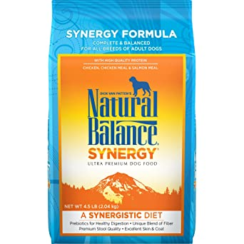 Natural Balance Synergy Ultra Premium Dry Dog Food 4 5 Pound