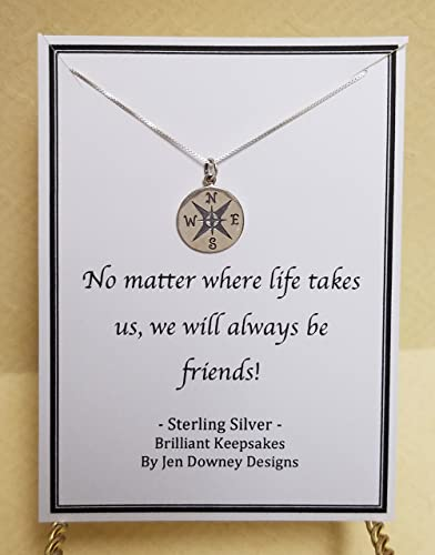 Amazoncom No Matter Where Life Takes Us Friendship Quote Sterling