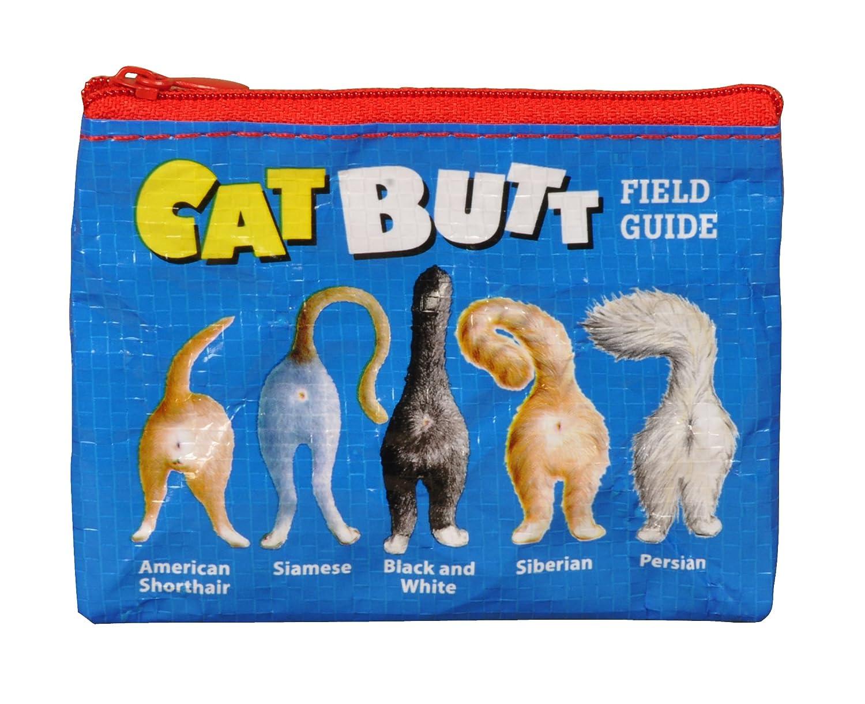 Blau Q - Cat Butt Geldbörse/Zippertasche