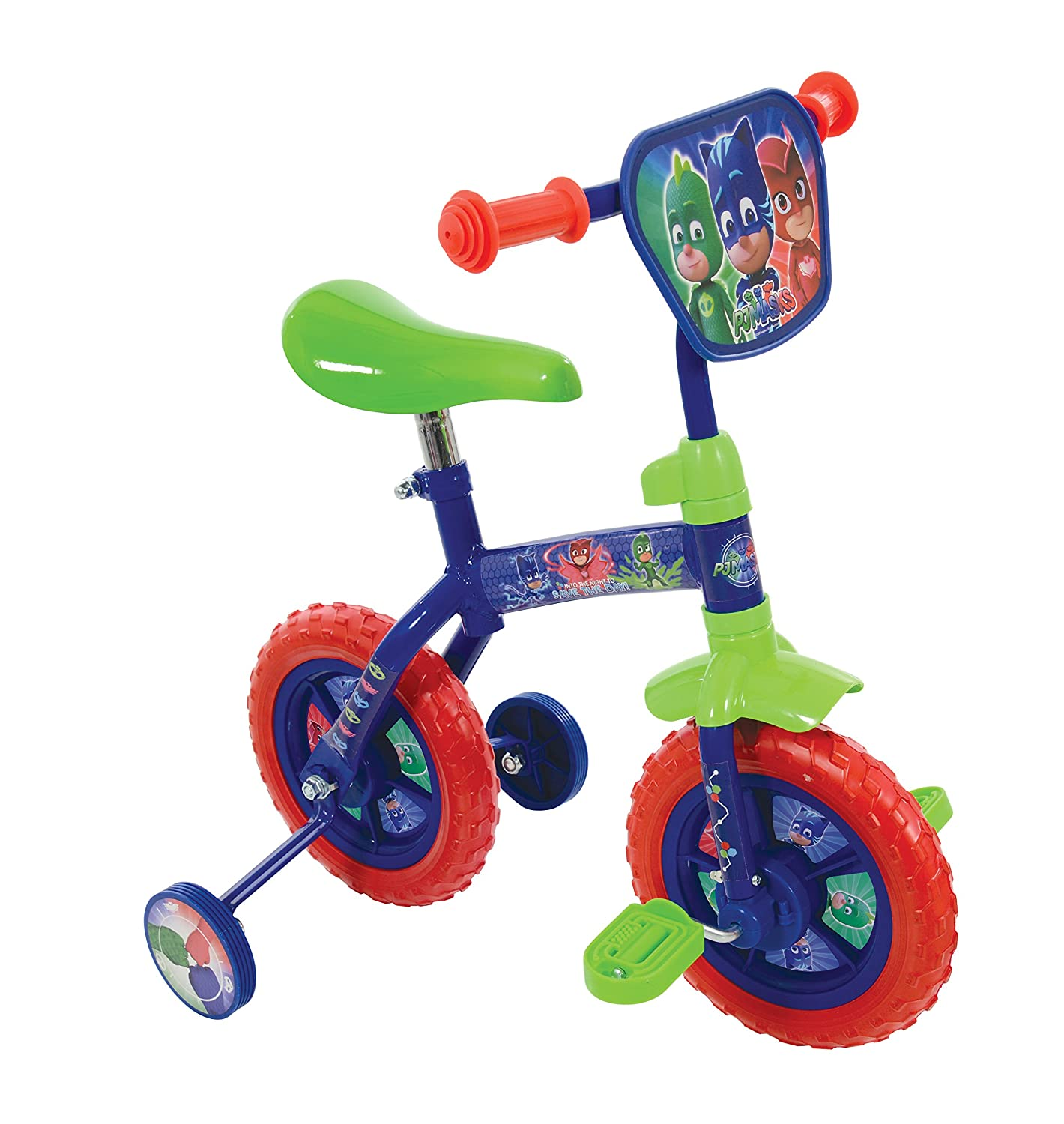 PJ MASKS 2-in-1 Training Bike 10-Inch: Amazon.es: Juguetes y ...