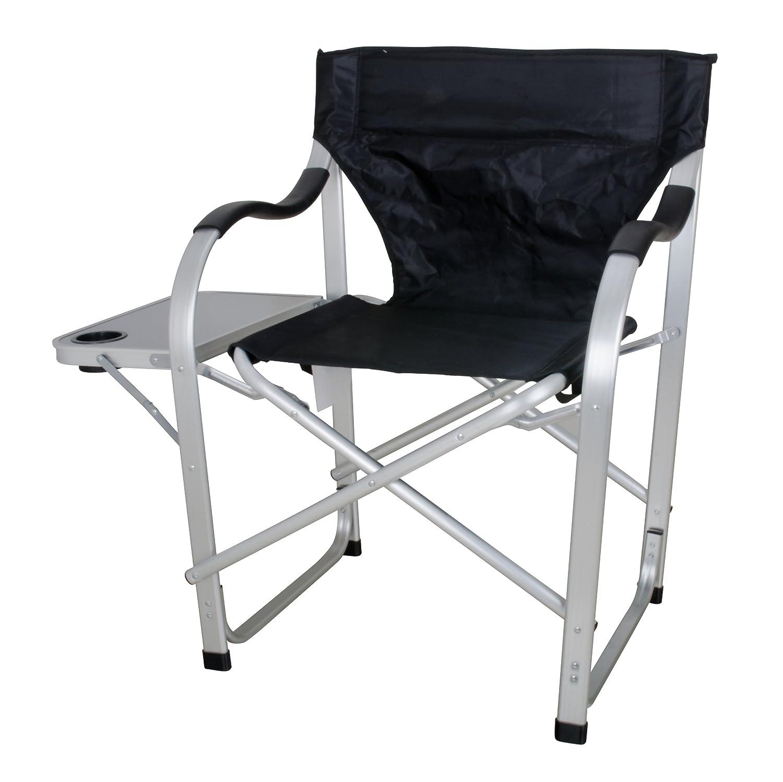 Amazon Stylish Camping SL1214 Black Heavy Duty Folding