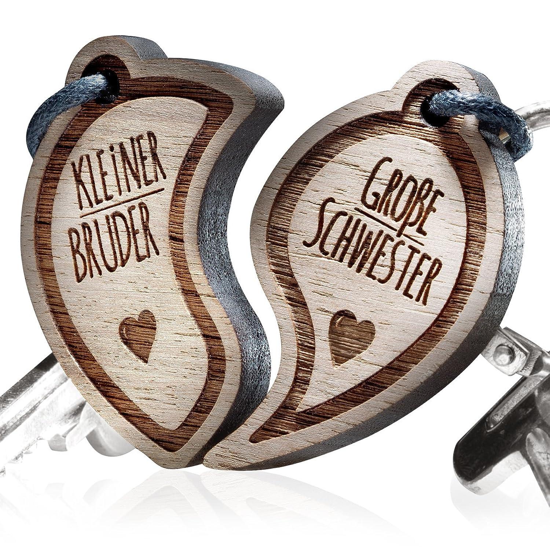 Schlüsselanhänger graviert: Kleine Schwester - Große Schwester ...