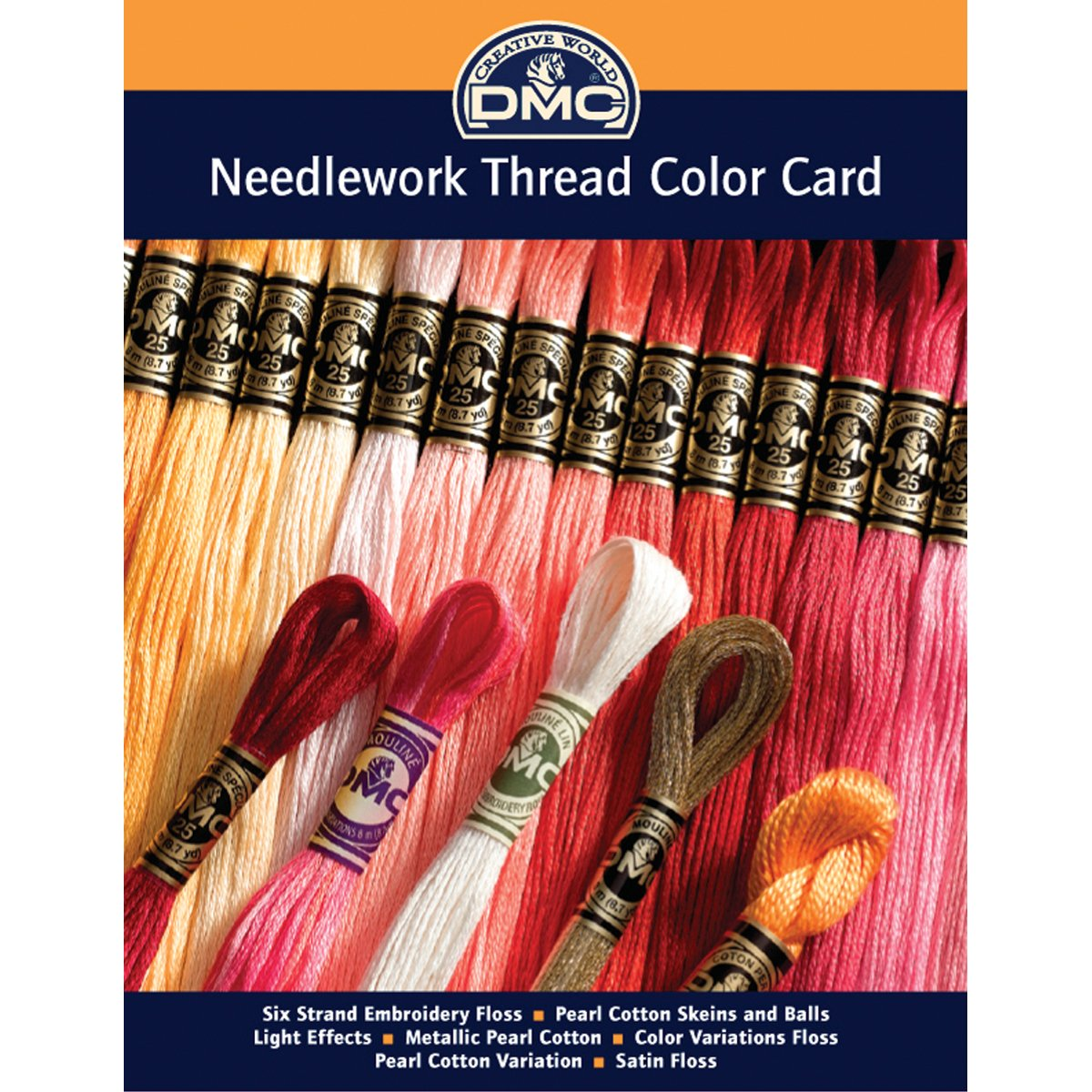 Amazon dmc colorcrd needlework threads 12 page printed color amazon dmc colorcrd needlework threads 12 page printed color card dmc corporation arts crafts sewing geenschuldenfo Images