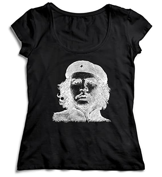 MYMERCHANDISE Che Guevara Pattern Holographic T-Shirt ...