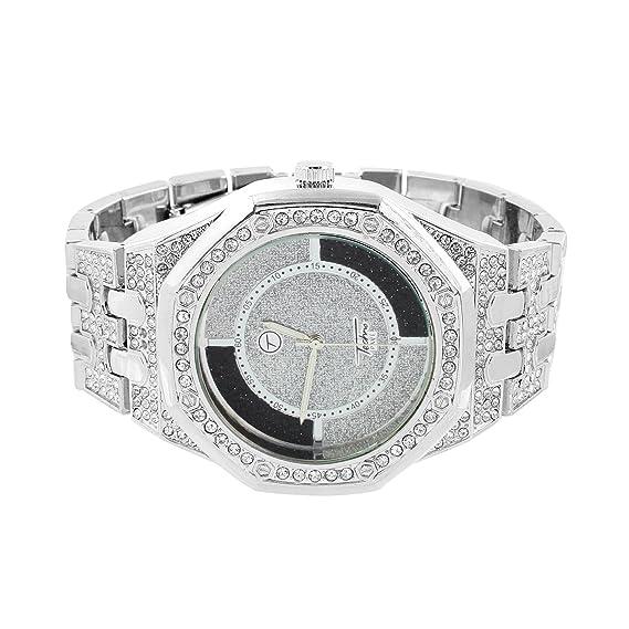 Blanco Jojo JoJino reloj Joe Rodeo en venta para hombre AP-01 simulado diamante personalizado