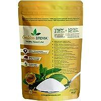 Golden Stevia edulcorante pura en polvo 90gr =