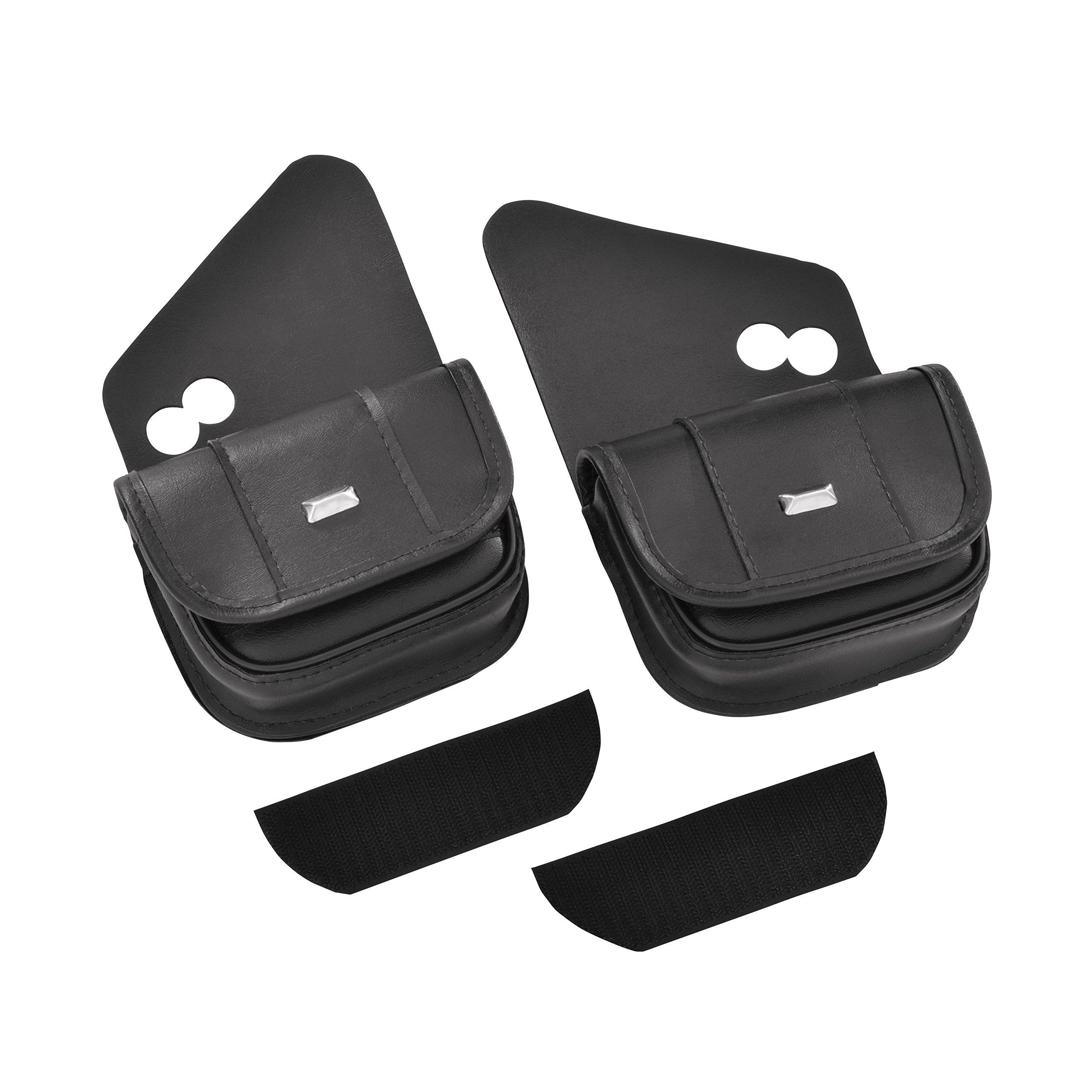 Hopnel HD90-102BC Black Classic Dual Pouch