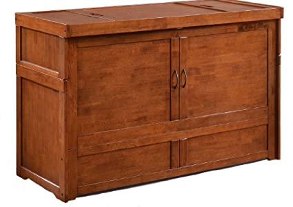 Amazon Com Sds Murphy Cube Queen Cabinet Bed Fully Assembled