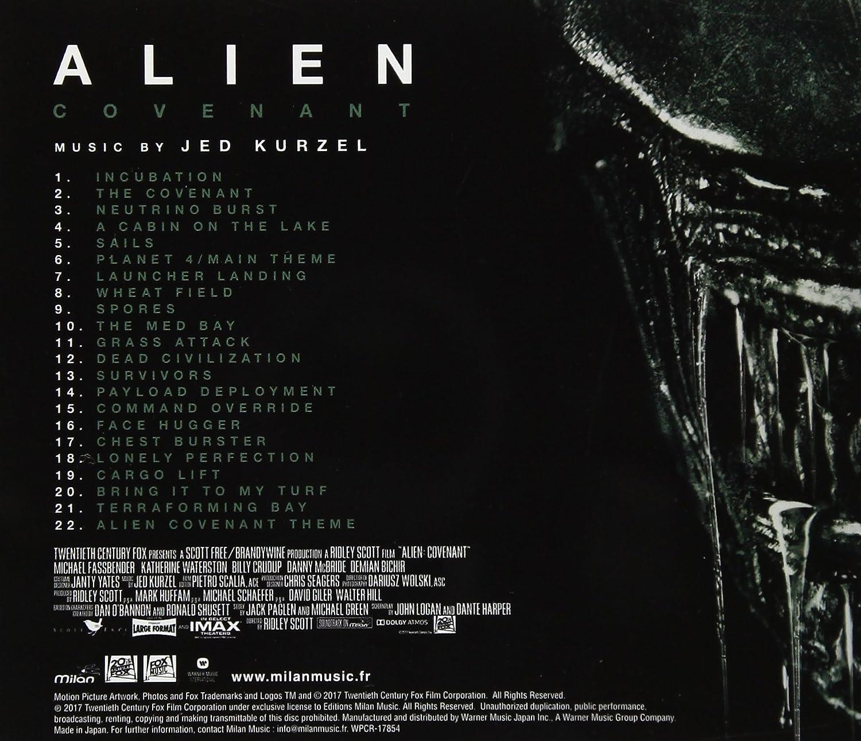 ALIEN:COVENANT O S T  - Alien:Covenant O S T  - Amazon com Music