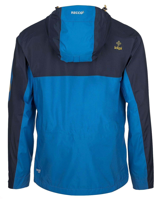Kilpi, Metrix, giacca da sci hardshell, uomo, blu