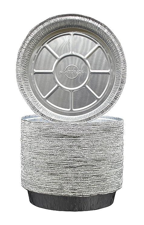 9 pulgadas redondo aluminio sartenes - Congelador y horno seguro ...