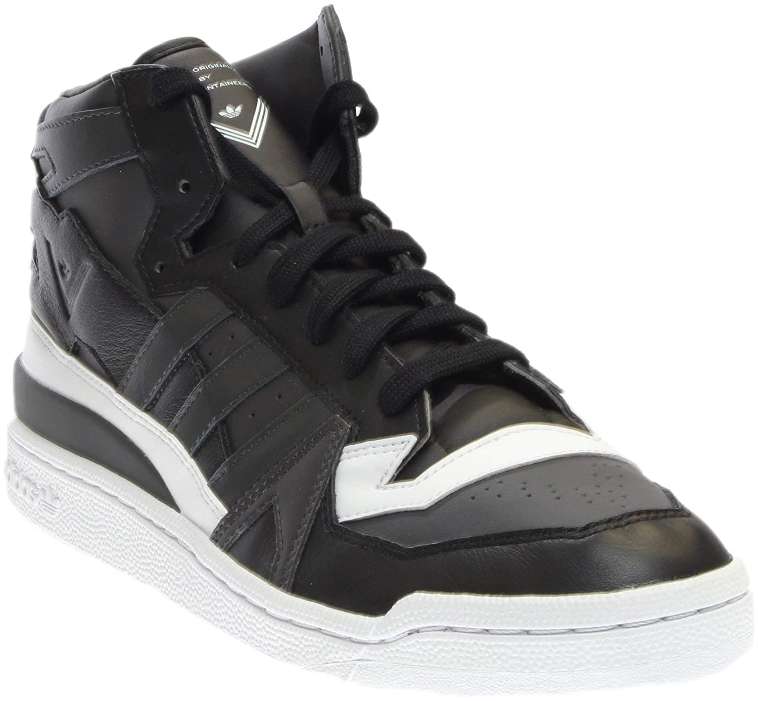 wholesale dealer 24325 426c1 Amazon.com   adidas Men White Mountaineering Forum Mid (Black Utility Black  Solid Grey Footwear White)   Fashion Sneakers