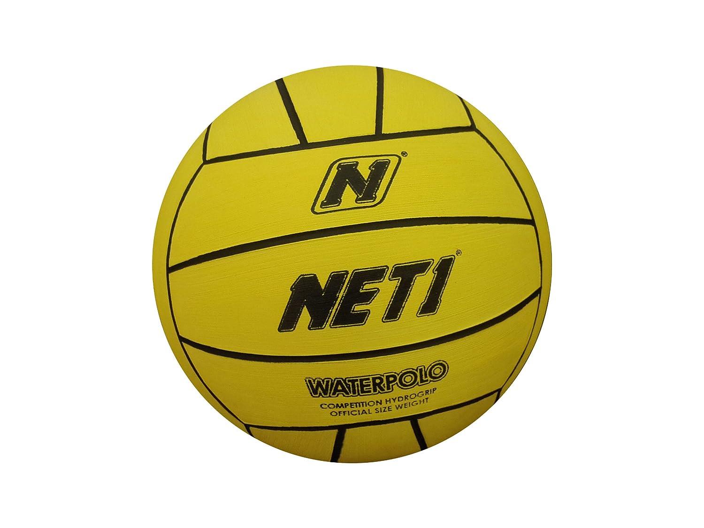 5a76c9b1e54 NET1 Water Polo Ball Size 5 - Yellow  Amazon.co.uk  Sports   Outdoors