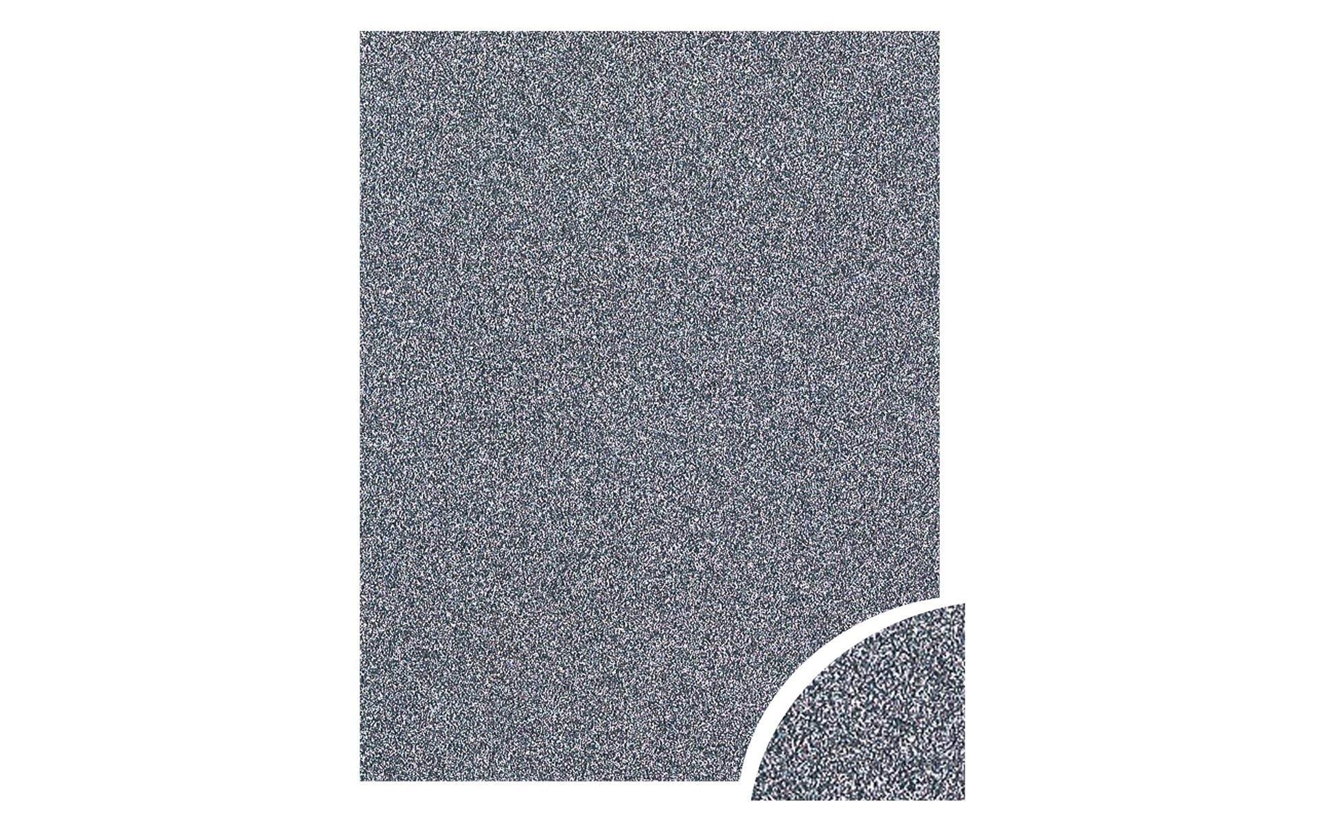 Paper Accents Cdstk Glitter 22x28 85lb Onyx UPC