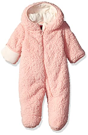 04acda611 Amazon.com: Weatherproof Baby Girls Sherpa Polar Fleece Pram: Clothing
