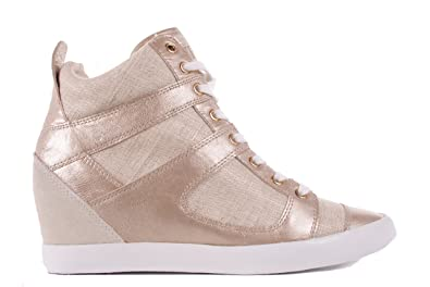 Guess Damen Sneaker Schnürschuhe Beige (41) 57f8078x