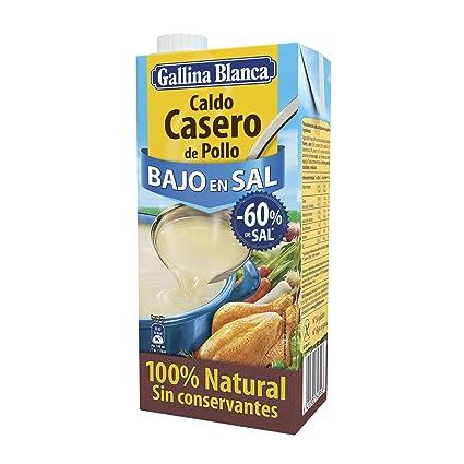 Caldo Casero De Pollo Bajo En Sal Gallina Blanca 1l Amazon De Lebensmittel Getränke