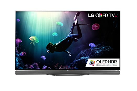 LG Electronics OLED55E6P Flat 55-Inch 4K Ultra HD Smart OLED TV
