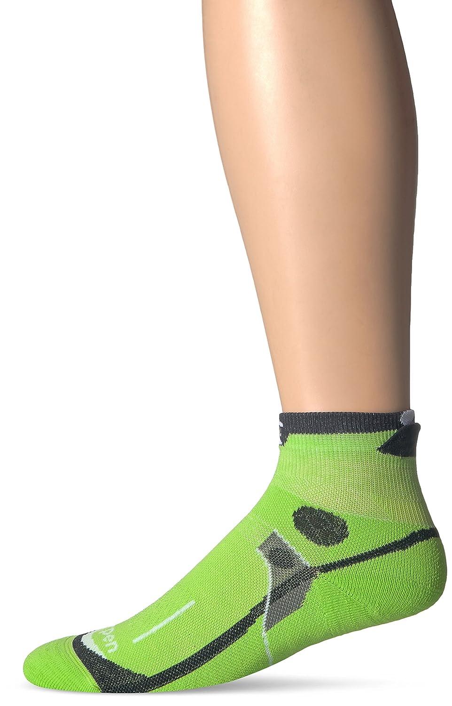 Medium Green Lorpen Mens T3 Ultra Trail Running Padded Socks