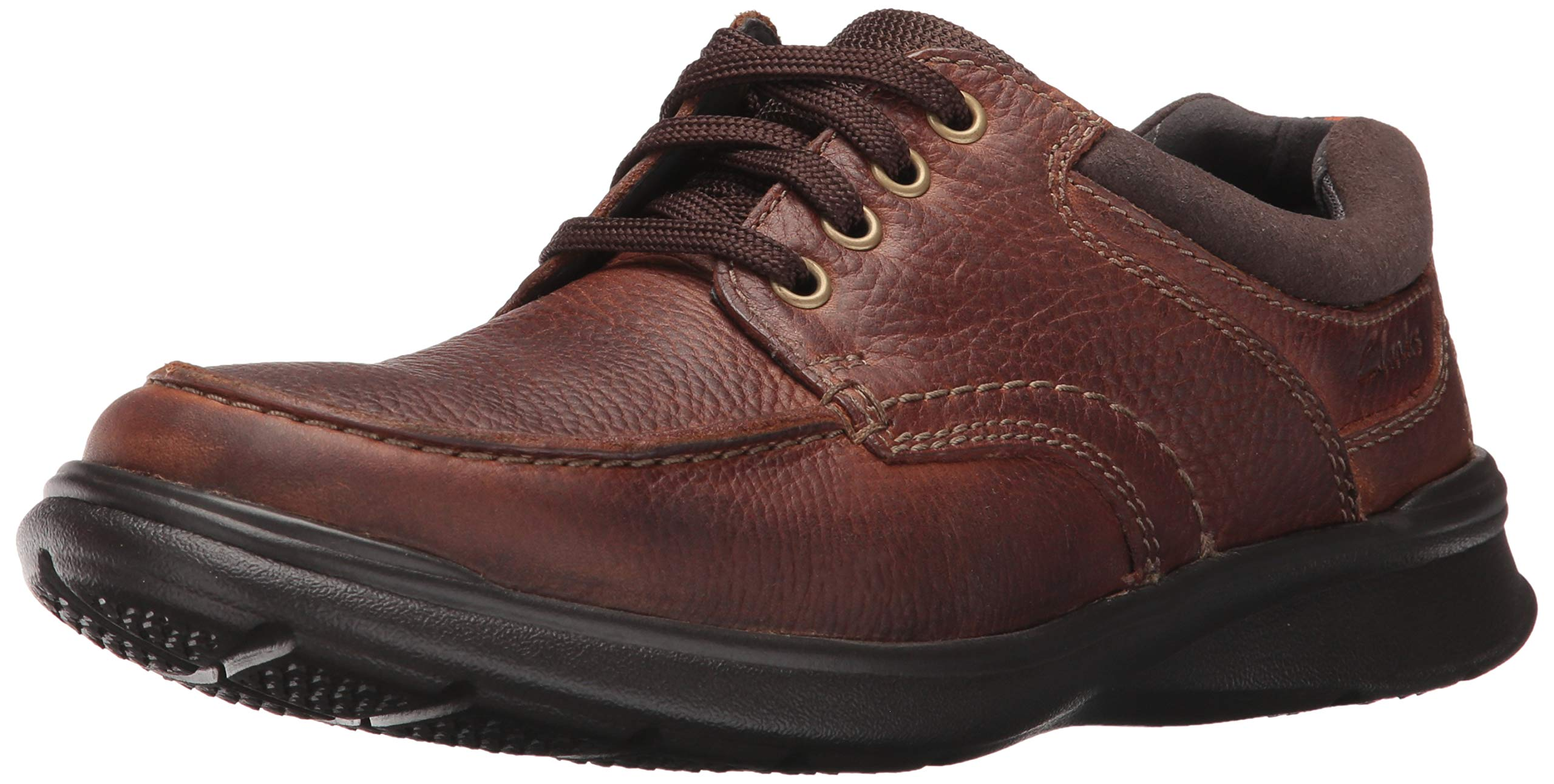 Clarks Men's Cotrell Edge Oxford, Tobacco Oily Leather, 10.5 W US