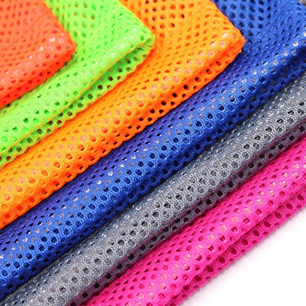 6 PCS Nylon Mesh Drawstring Storage Bag Equipment Bag Stuff Sack Golf Ball Bag ,Assorted by Erlvery DaMain (Image #3)