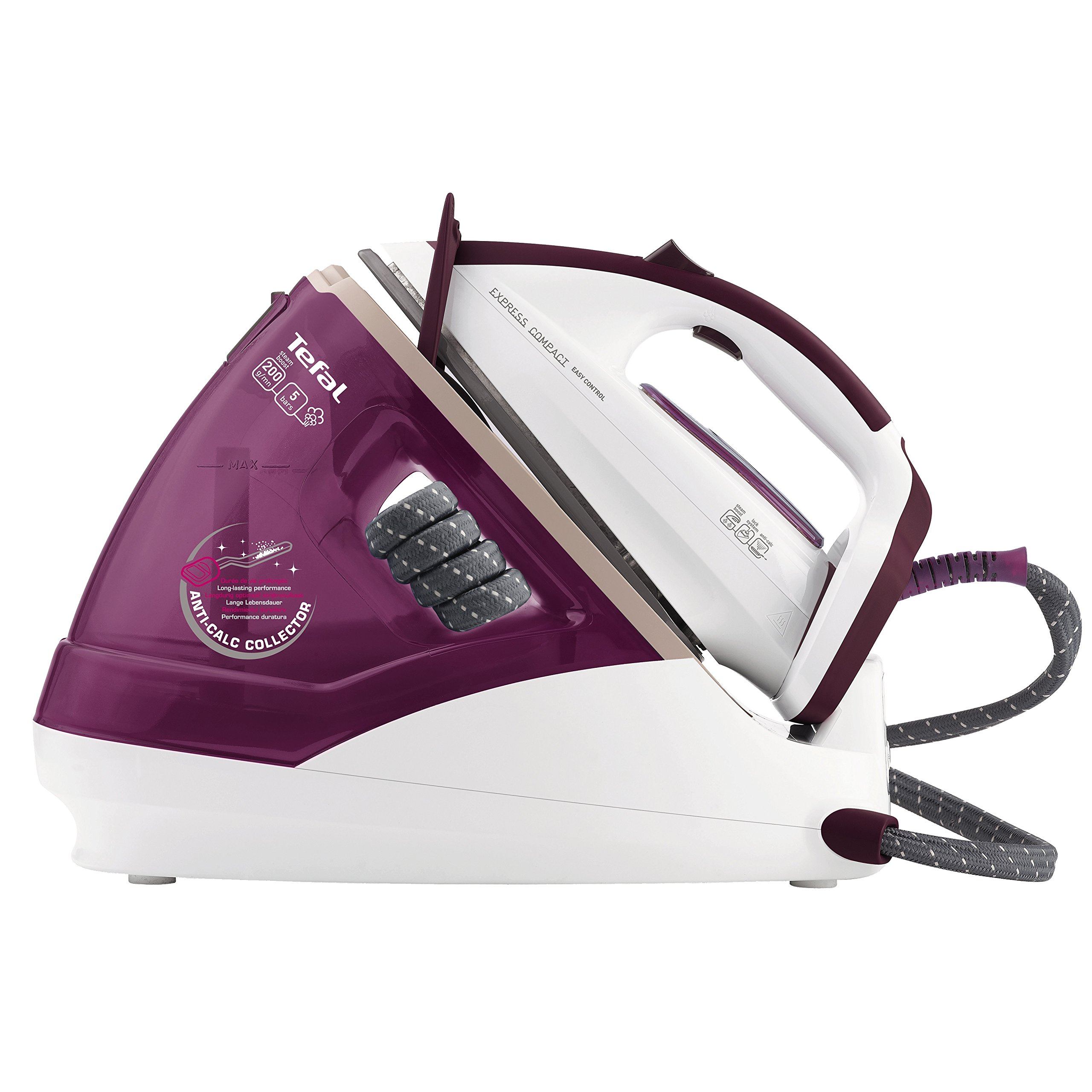 Tefal GV7620 Express pact High Pressure Steam Generator Iron
