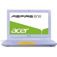 Acer Aspire One Happy 2 25,7 cm (10,1 Zoll) Netbook (Intel Atom N570, 1,6GHz, 1GB RAM, 320GB HDD, Intel  3150, Win 7 Starter) gelb