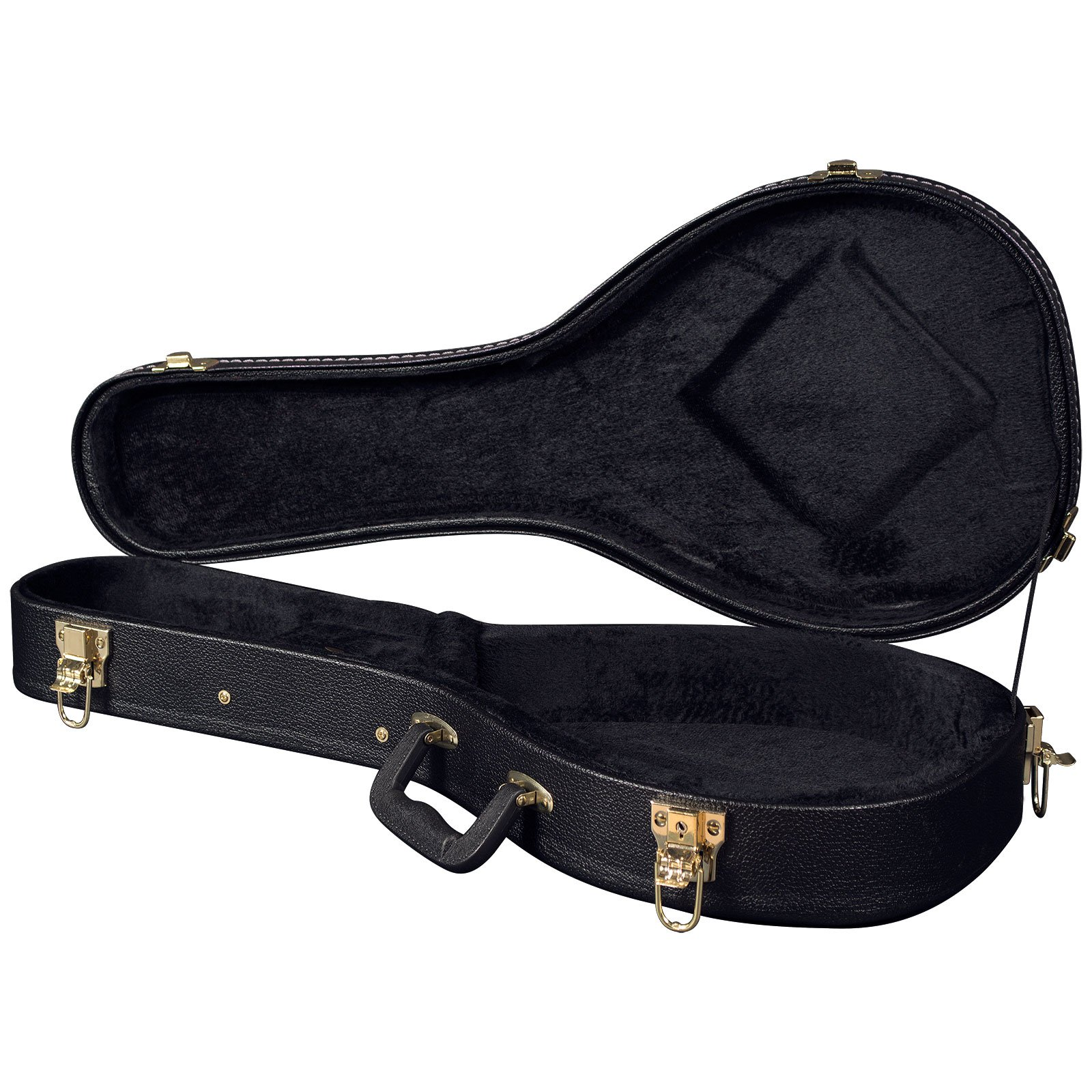 Carrion C-3603 Black Hardshell Octave Mandolin Case