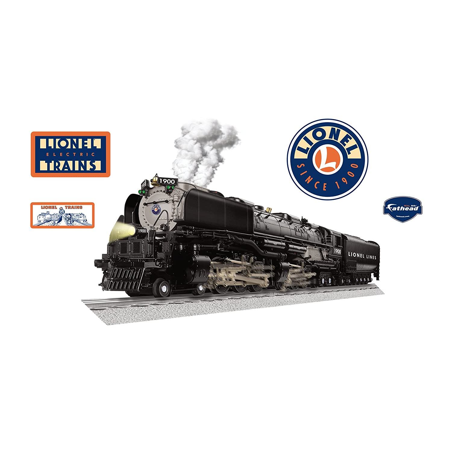 Realistic Train Wall Decals Lionel Vision Challenger Train