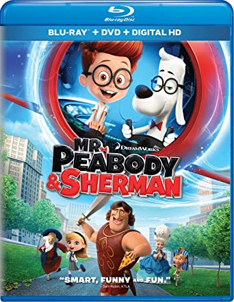mr peabody and sherman blu ray 3d