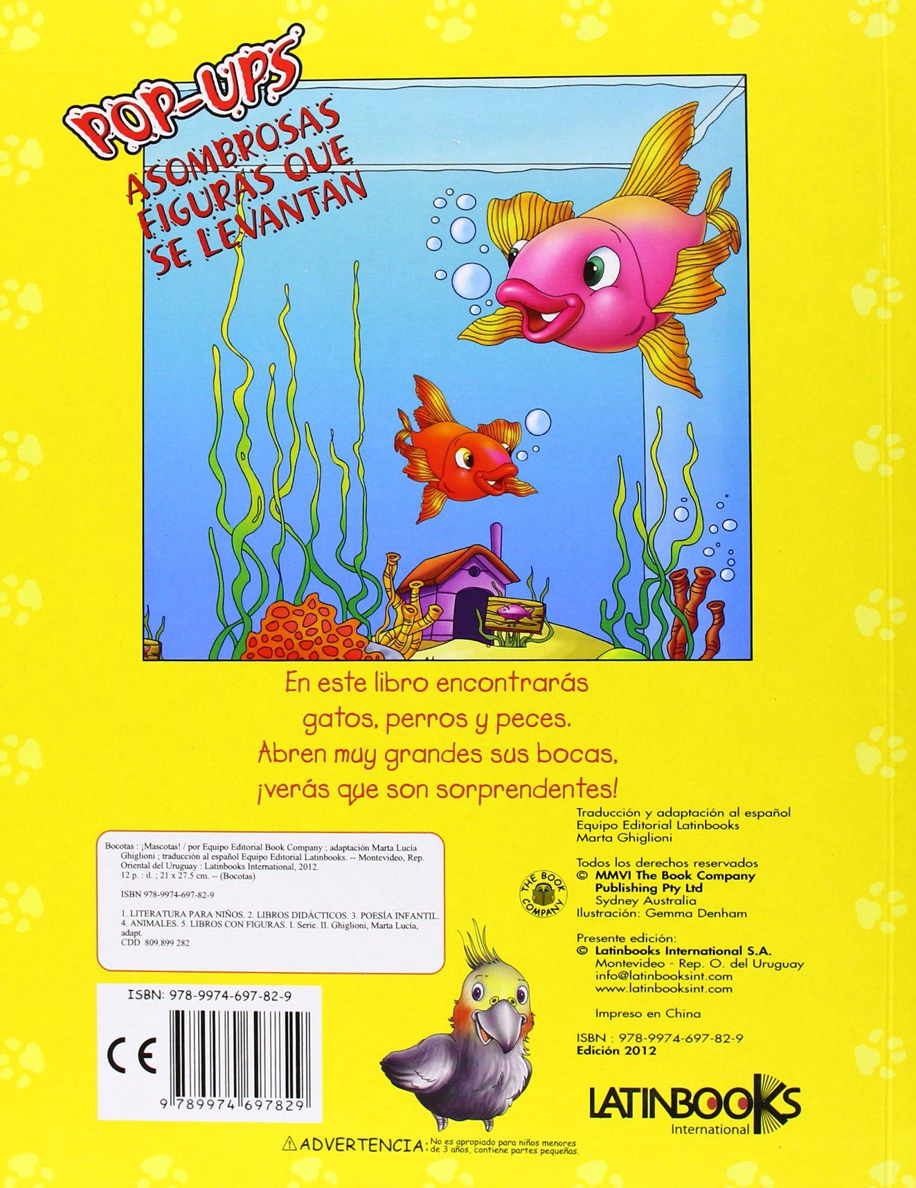 BOCOTAS:MASCOTAS ADORABLES (POP-UPS): S.A. LATINBOOKS INTERNATIONAL: 9789974697829: Amazon.com: Books