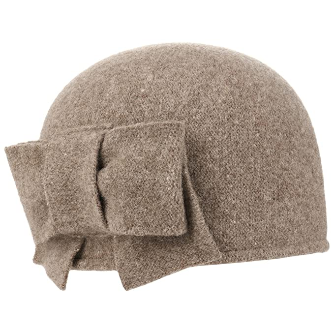 Seeberger Litika Cappello Lana Cotta follato Taglia Unica - Beige Scuro   Amazon.it  Abbigliamento 30f8897afc8f