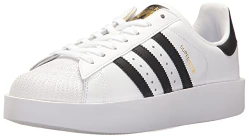 official photos 7bf5c 20054 adidas Originals Women s Superstar Bold W Running Shoe White Black Metallic  Gold 10.5 Medium