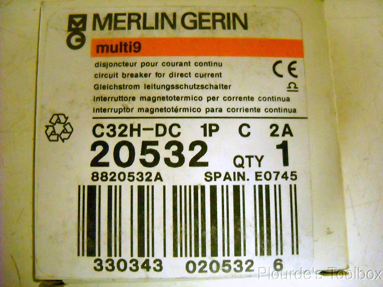 Merlin Gerin Schneider Dc Circuit Breaker C32h 20532 Amazon Industrial Scientific