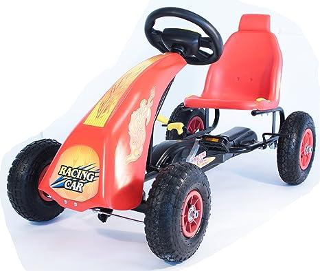 R Max Kart Racing Clásico Diseño- Toy Pedal marco de acero sólido - Embrague Pedal