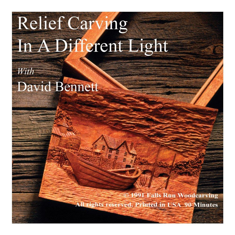 Flexcut Relief Carving, Instructional DVD, by David Bennett, 90 Minutes (FR107)