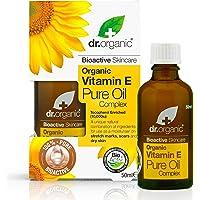 Dr. Organic ren olja vitamin E 50 ml, pris/100 ml: 23,98 EUR
