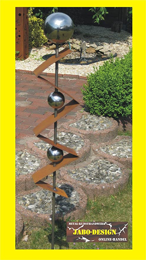 Jabo Design Gartenstecker St300 Rost Skulptur Rostdeko Edelrost