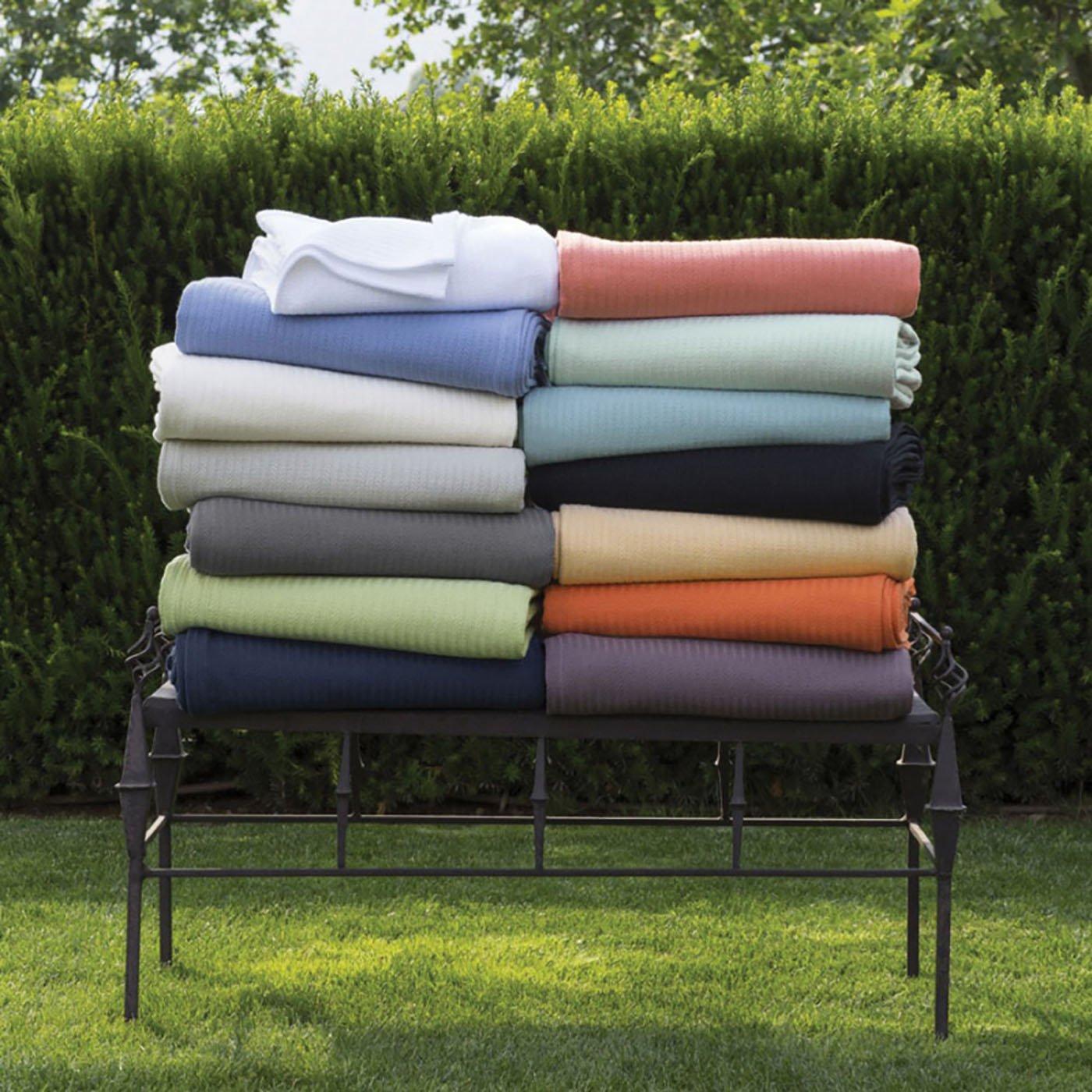 Sferra Grant Blanket King Blanket 120x100 グレー SFE2464-24063 B00EENPMWK グレー King Blanket 120x100