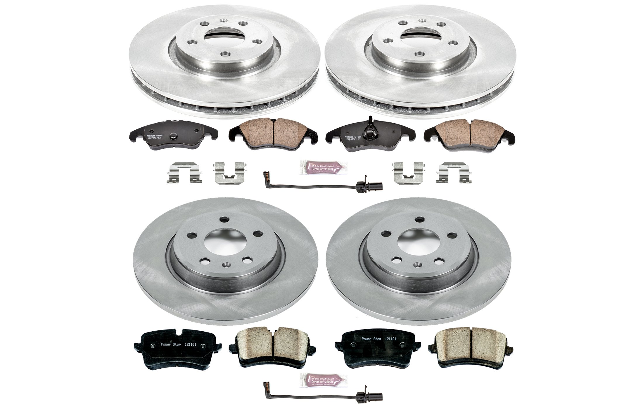 Power Stop KOE6136 Autospecialty Daily Driver OE Brake Kit by Power Stop (Image #2)