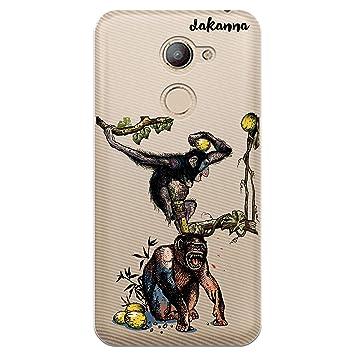 dakanna Funda para Vodafone Smart N8 | Animal Print Monos ...