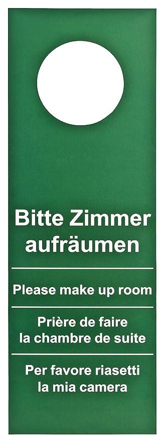 Placa para puerta 200 Unidades Hotel No molestar ...